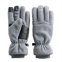 Men's Tek Gear®® HeatTek Thinsulate Microfleece Cuffed Touchscreen Gloves