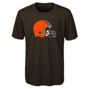 Boys 8-20 Cleveland Browns Primary Logo Performance Tee
