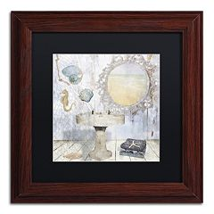 Trademark Fine Art Beach House II Matted Framed Wall Art