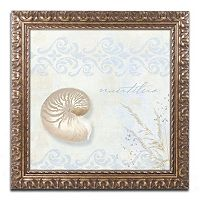 Trademark Fine Art She Sells Seashells I Ornate Framed Wall Art