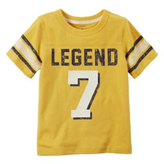 "Boys 4-8 Carter's ""Legend 7"" Striped Graphic Tee"