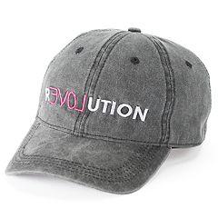 Women's SO® Embroidered 'Revolution' Baseball Cap