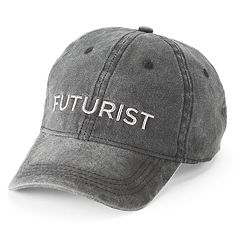 Women's SO® Embroidered 'Futurist' Baseball Cap