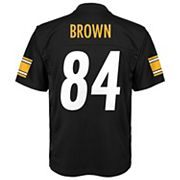 Boys 4-7 Pittsburgh Steelers Antonio Brown Replica NFL Jersey