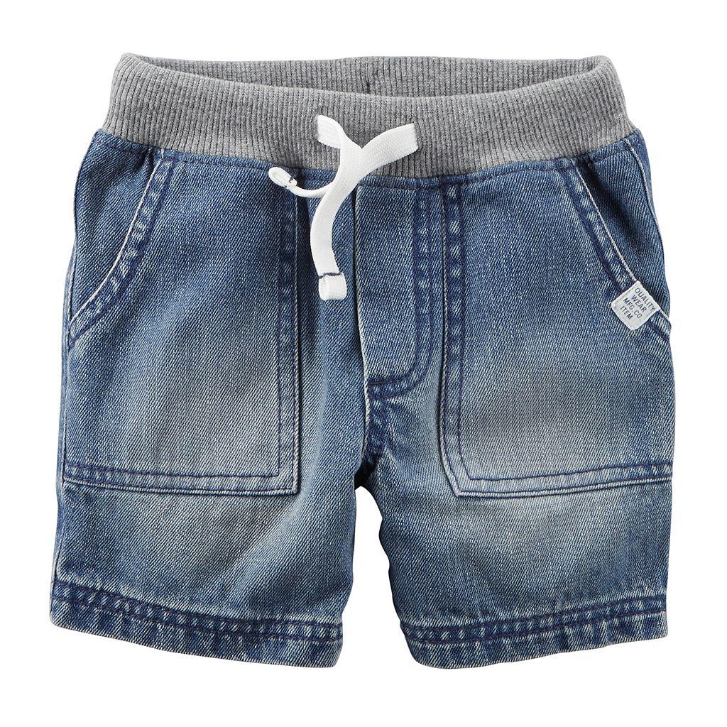 Boys 4-8 Carter's Woven Denim Shorts