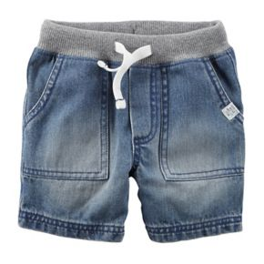 Boys 4-8 Carter's Woven Denim Shorts