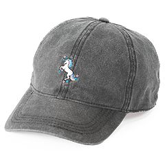 Women's SO® Embroidered Unicorn Baseball Cap