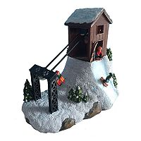 St. Nicholas Square® Village Ski Lift with Motion