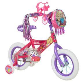 Girls Barbie 12-Inch Training Wheel Bike by Dynacraft