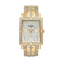 Elgin Men's Crystal Cross Watch