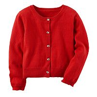 Toddler Girl Carter's Red Cardigan