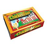 ChickenFoot Double 9 Color Dot Professional Size Dominoes by Puremco