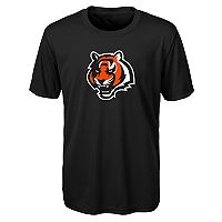 Boys 8-20 Cincinnati Bengals Primary Logo Performance Tee