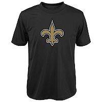 Boys 8-20 New Orleans Saints Primary Logo Performance Tee