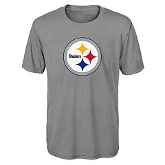 Boys 8-20 Pittsburgh Steelers Primary Logo Performance Tee