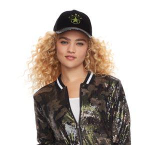 "madden NYC Women's ""Cadet"" Sequined Brim Baseball Cap"