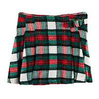Toddler Girl Carter's Plaid Pleated Skirt