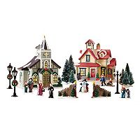 St. Nicholas Square® Village 20-Piece House/Church Starter Set