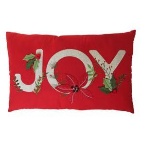 St. Nicholas Square® ''Joy'' Oblong Throw Pillow