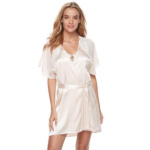 Women's Linea Donatella Secret Love Bridal Wrapper Robe