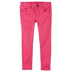 Toddler Girl Carter's Pink Pull-On Pants