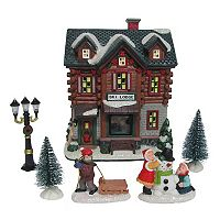 St. Nicholas Square® Village 6-Piece Ski Lodge Value Set