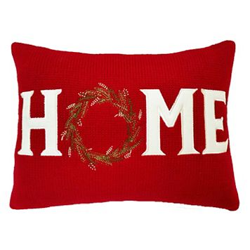 St. Nicholas Square® ''Home'' Oblong Throw Pillow