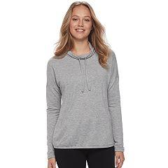 Women's SONOMA Goods for Life™ Pajamas: Cowlneck Banded-Bottom Sweatshirt