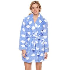 Women's SONOMA Goods for Life™ Textured Plush Short Robe
