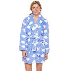Women's SONOMA Goods for Life™ Textured Plush Short Robe