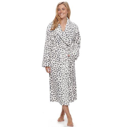 58f0cc1d54dd Women's SONOMA Goods for Life™ Plush Long Robe