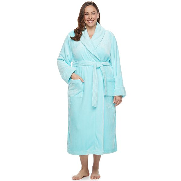 Plus Size Sonoma Goods For Life Plush Long Robe