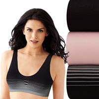 Bali 3 pkComfort Revolution Crop Top Bra DFX1JB