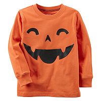 Boys 4-8 Carter's Pumpkin Long Sleeve Tee