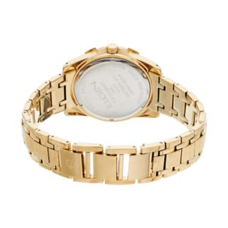 Elgin Men's Crystal Watch & ID Bracelet Set