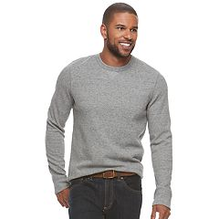 Big & Tall SONOMA Goods for Life™ Classic-Fit Soft-Touch Stretch Thermal Crewneck Tee