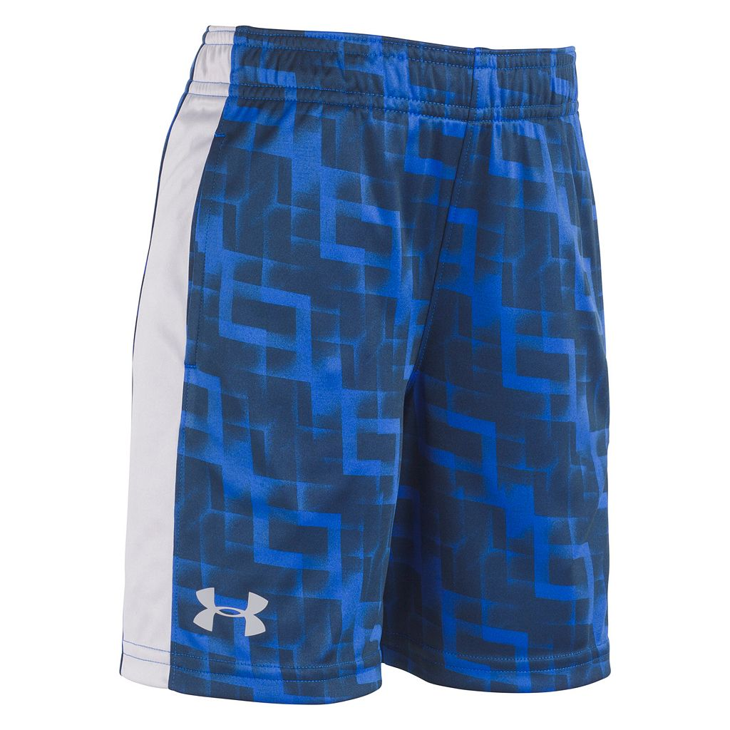 Toddler Boy Under Armour Interval Printed Shorts