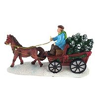 St. Nicholas Square® Village Horse with Wagon