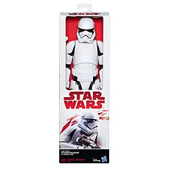 Star Wars: Episode VIII The Last Jedi First Order Stormtrooper 12-in. Figure by Hasbro