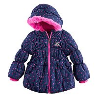 Toddler Girl ZeroXposur Brenna Heavyweight Heart Print Jacket