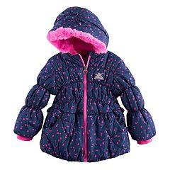 Toddler Girl ZeroXposur Brenna Heavyweight Heart Print Jacket