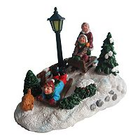 St. Nicholas Square® Village Light-Up Kids Sledding