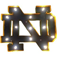 Notre Dame Fighting Irish Light-Up Wall Décor
