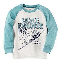 Boys 4-8 Carter's 'Space Explorer' Raglan Graphic Tee