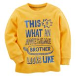 "Boys 4-8 Carter's Thermal ""This Is What An Awesome Brother Looks Like"" Tee"