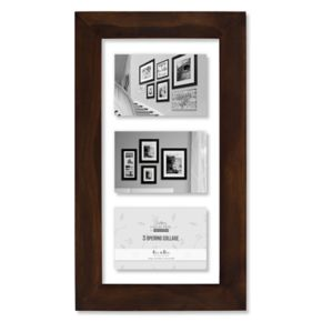 "Malden 3-Opening 5"" x 7"" Floating Collage Frame"