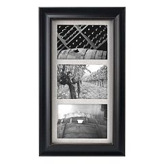 eefd1a7d068 Malden 3-Opening 5  x 7  Barnside Collage Frame. Black White