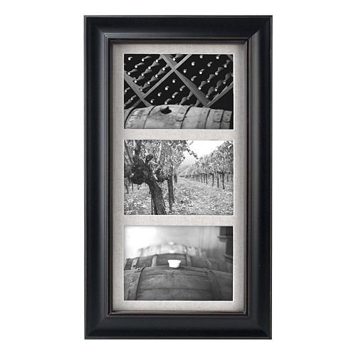 "Malden 3-Opening 5"" x 7"" Barnside Collage Frame"