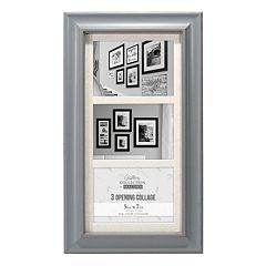 Malden 3-Opening 5' x 7' Barnside Collage Frame