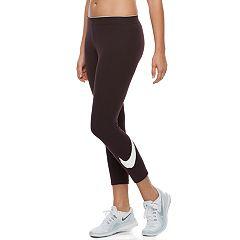 Women's Nike Classic Club Swoosh Capri Leggings